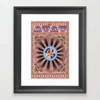 BELLICOSE Framed Art Print