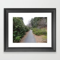 The Path Less Taken Framed Art Print