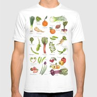 Calendar-January thru June Mens Fitted Tee White SMALL