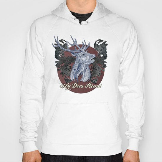 My Deer Friend / Version 2 Hoody