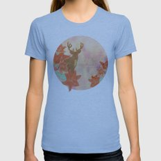 He Leads Womens Fitted Tee Athletic Blue SMALL