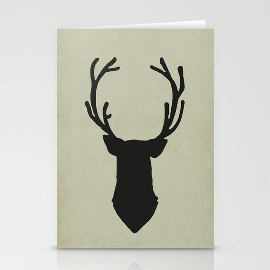 Le cerf my deer. Stationery Card