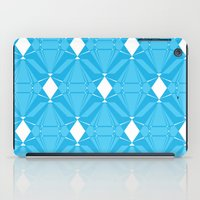 Abstract [BLUE] Emeralds iPad Case