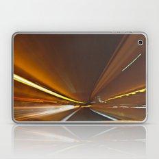 Traffic in warp speed Laptop & iPad Skin