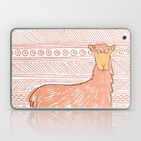 Llamas Are Friends In Pe… Laptop & iPad Skin