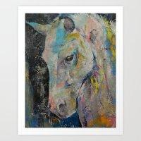 Hidden Heart Horse Art Print