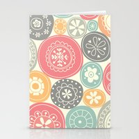 Candy Circles Stationery Cards