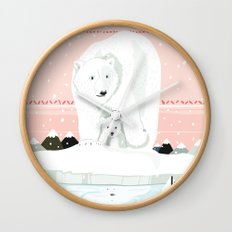 The White Bears and the Tin Soldier Wall Clock
