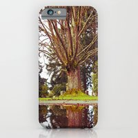 Cemetery reflection iPhone 6 Slim Case