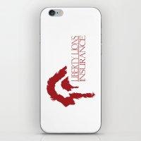 Liberty Lions Insurance iPhone & iPod Skin
