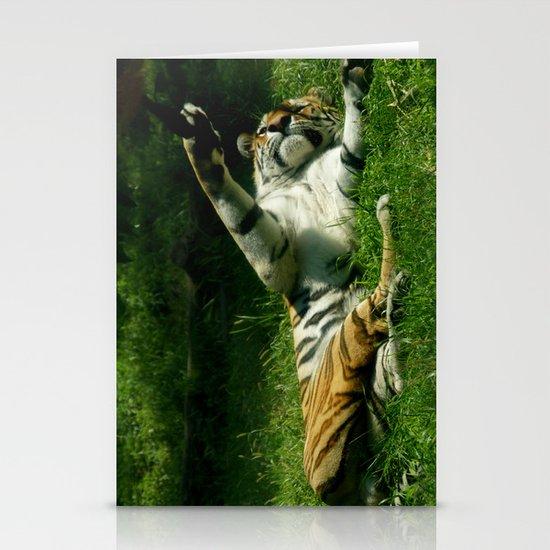 Resting Tiger Stationery Card