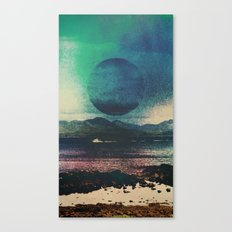 Fluid Moon Canvas Print