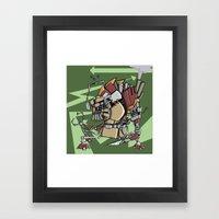JunkBot Framed Art Print