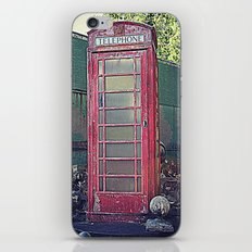 Old Telephone Booth iPhone & iPod Skin