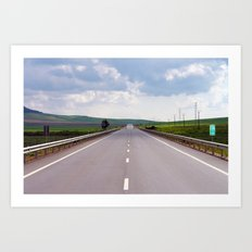 2007 - We Are On A Road To Nowhere (High Res) Art Print