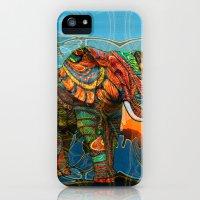 iPhone 5s & iPhone 5 Cases featuring Elephant's Dream by Waelad Akadan