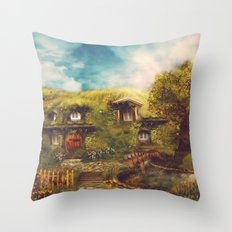 The Shire, 11 x 14 Throw Pillow
