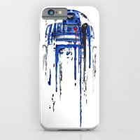 iPhone Cases featuring A blue hope 2 by SMAFO
