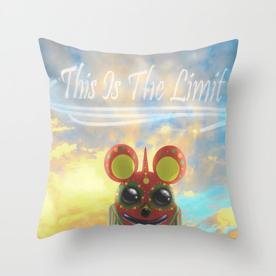 This Is The Limit Throw Pillow