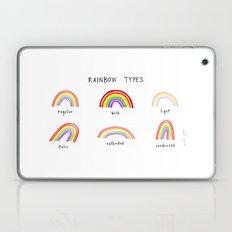 rainbow types Laptop & iPad Skin