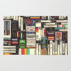 Cassettes, VHS & Atari Rug