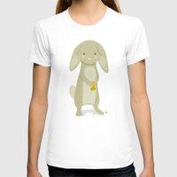 rabbit T-shirts featuring Rabbit by Jane Mathieu