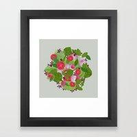 salad Framed Art Print