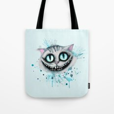Cheshire Watercolor  Tote Bag
