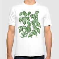 verde Mens Fitted Tee White SMALL