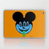 REPTILIAN MICKEYES. (Blue Face). Laptop & iPad Skin
