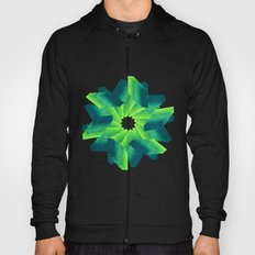 Geometric Flower Hoody