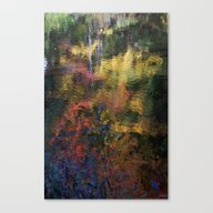 NH Autumn Abstract Canvas Print