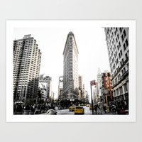 Desaturated New York Art Print