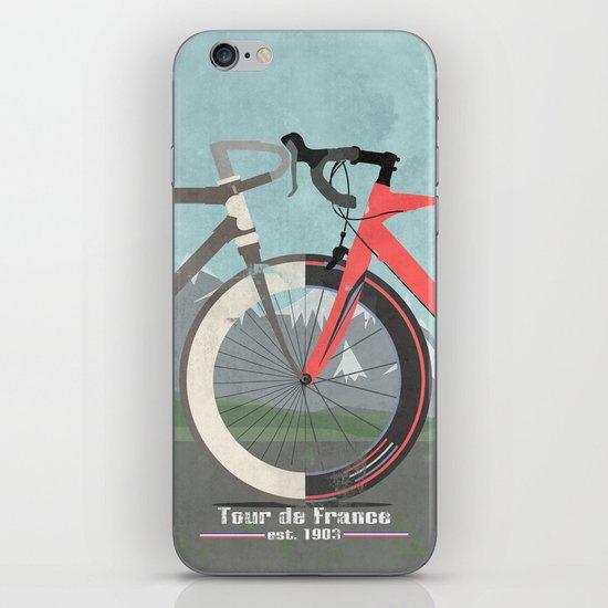 Tour De France Bicycle iPhone & iPod Skin