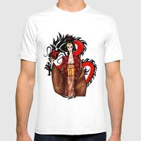 Mulan Mens Fitted Tee White SMALL