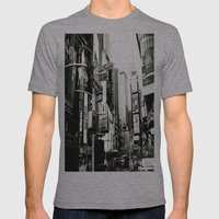 WHITEOUT : Life in the City Mens Fitted Tee Athletic Grey SMALL