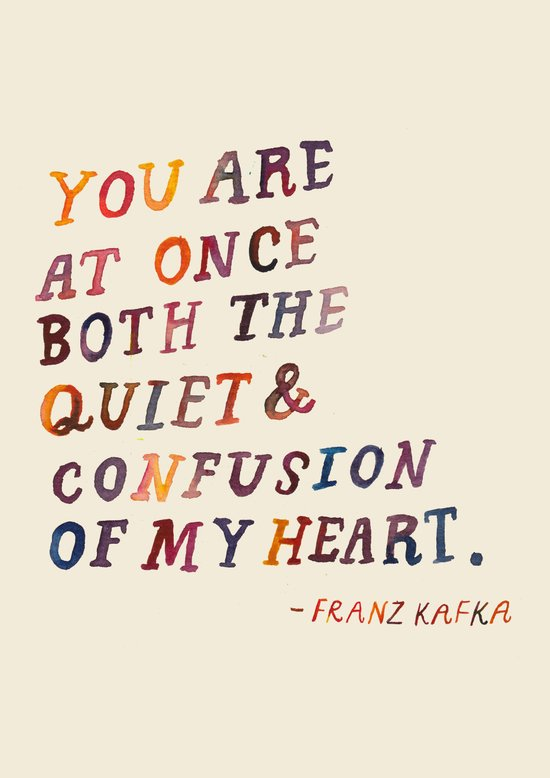 Kafka Canvas Print