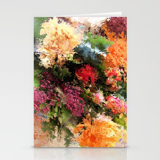Four Seasons in One Day Stationery Card