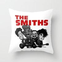 The Smiths (white Versio… Throw Pillow