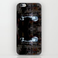 Lights Mirror Image iPhone & iPod Skin