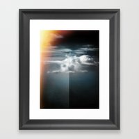 Cloud In The Northern Sk… Framed Art Print