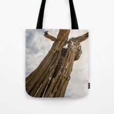 Saguaro Skeleton Tote Bag