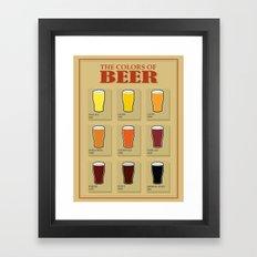 Beers Framed Art Print