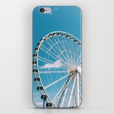 White Wheel iPhone & iPod Skin