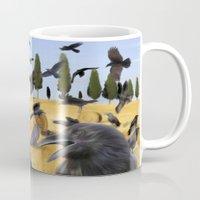 Crows In Tuscany Mug