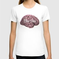 Bless This Mess. Womens Fitted Tee White SMALL