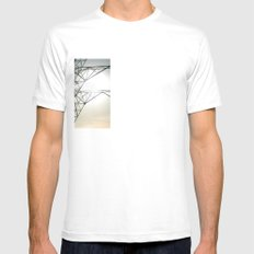 sky 2 Mens Fitted Tee SMALL White