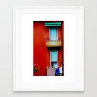 The Windows Framed Art Print