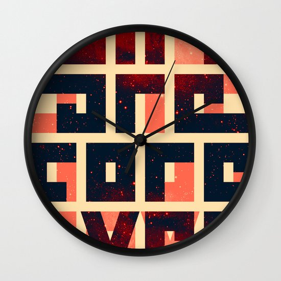 GIFs are forever Wall Clock
