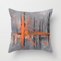 Levels -  (from Original Painting by BruceStanfieldArtist) Throw Pillow